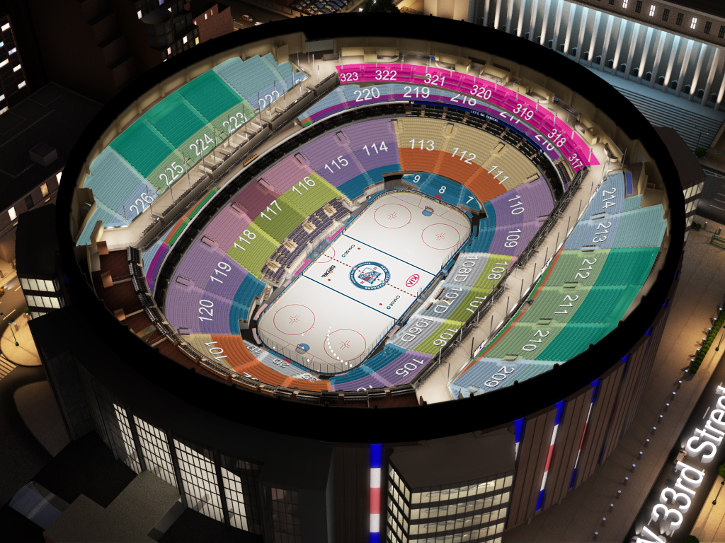 new york rangers virtual venue™ by iomedia