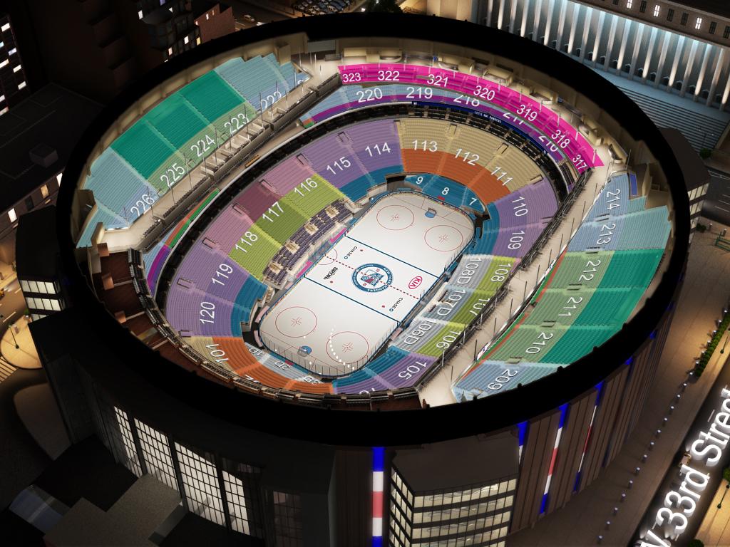 New York Rangers Msg Seating Chart